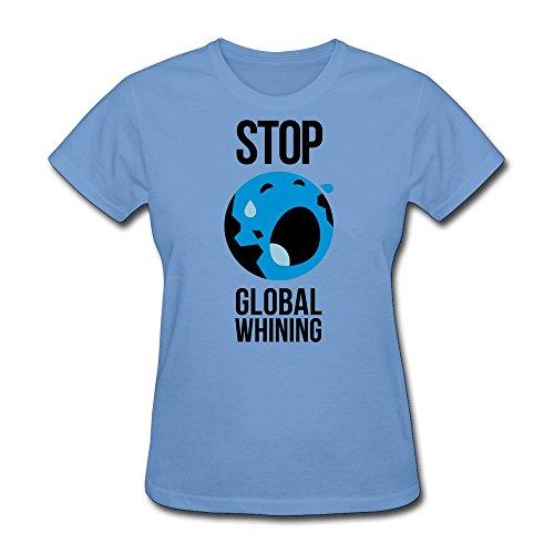ZHENGXING Women's Stop Global Whining T-shirt Size XL