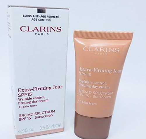 Clarins Multi-Active Jour Cream SPF 20 Broad Spectrum Sunscreen .5 Oz / 15 Ml Travel Size
