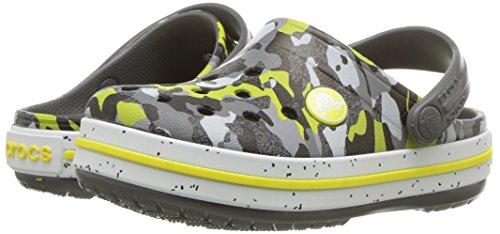 Crocs Unisex-Kids Crocband Camo Speck K Clog, Graphite/Camo, 12 M US Little Kid by Crocs (Image #6)
