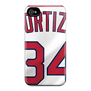 AnnaDubois Iphone 6 Excellent Hard Phone Cases Unique Design Colorful Boston Red Sox Pattern [DoG8762KfCU]
