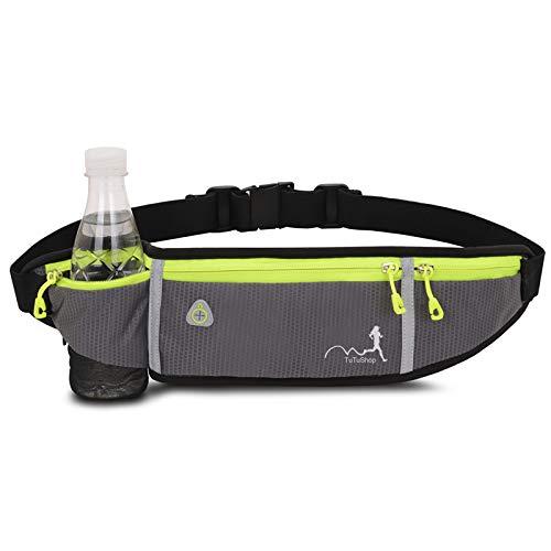 TuTuShop Lichtgewicht Running Belt Verstelbare Running Taille Pack met Elastische Strap Running Pouch Telefoon Houder…