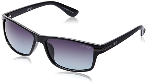 Espee Polarized Square Men's Sunglasses – (ESS7109C1P58SG 58 Smoke Gradient lens)
