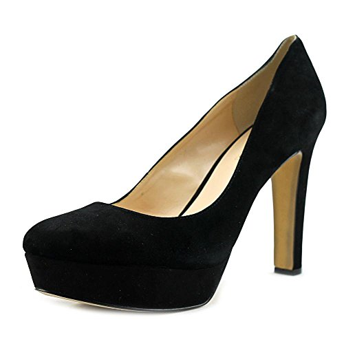 Toe Closed Platform Pumps INC Anton International Leather Womens Concepts Black x1T6q7Yw4