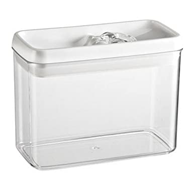 Felli Flip Tite Acrylic Food Storage Rectangular Canister, 61 oz (1)