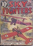 img - for SKY FIGHTERS: March, Mar. 1935 book / textbook / text book