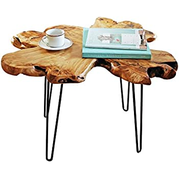 Amazon Com Driftwood Coffee Table Kitchen Amp Dining
