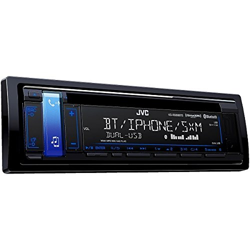 JVC KD-R988BTS CD Receiver with Bluetooth and SiriusXM Ready - Kenwood Hand Mic