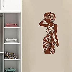 xingbuxin Africa Art Decor Africa Tatuajes de Pared Tribal African ...