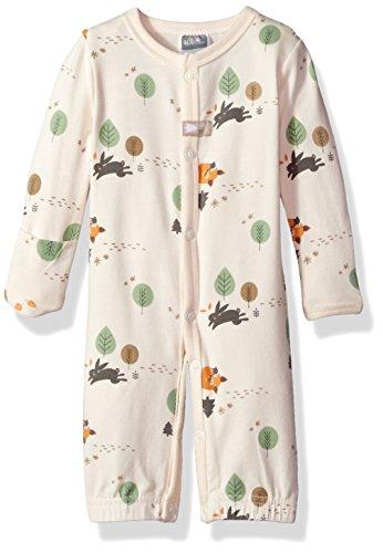 Kushies Baby Infant Convertible Gown, Ecru Preemie