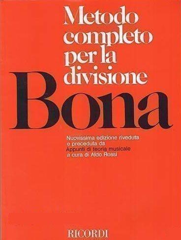 BONA - Metodo Completo per la Divisione Copertina flessibile – 2012 Ricordi B00BM38XNA