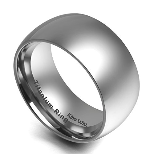 Wide Tungsten Ring Wedding Band - 7
