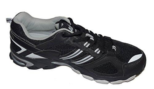 BTS - Zapatillas de running de malla para mujer Varios Colores - Schwarz/ Weiß