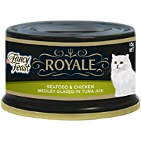 Purina Fancy Feast Royale Seafood And Chicken Cat Food 85 g