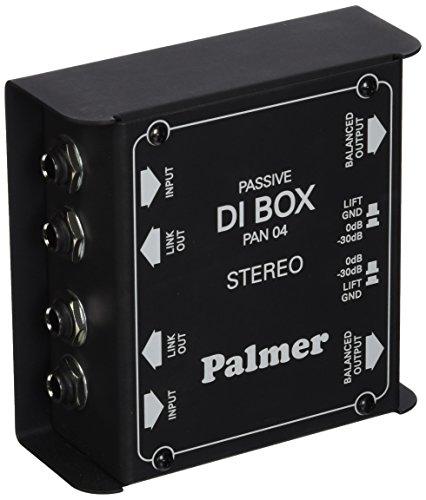 Palmer PAN04 2-Channel Passive DI Box by Palmer
