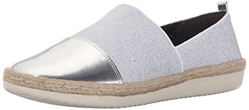 Easy Ordell Silver Spirit Silver Flat Women's Fabric CwqfxPC