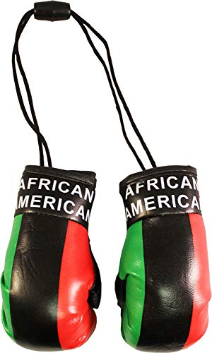 Flagline African American - Mini Boxing Gloves