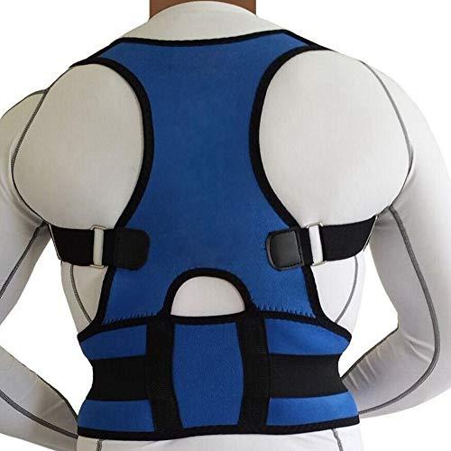 Adjustable Corset Men Lumbar Spine Support Straight Corrector for Posture Brace Back Belt Male Female ()