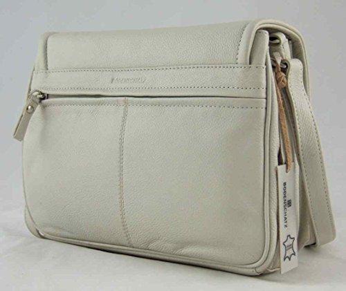 126 Leder Flap Vollrind Tasche Ordnungswunder Schultertasche Bodenschatz Bag w0tpqO