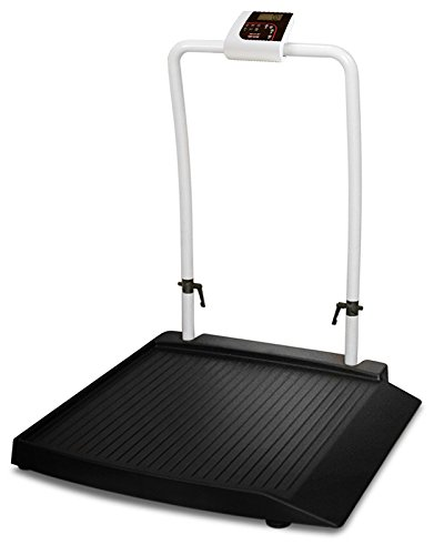 Rice Lake 350-10-2 Single Ramp Digital Physician's Wheelchair Weigh Scale