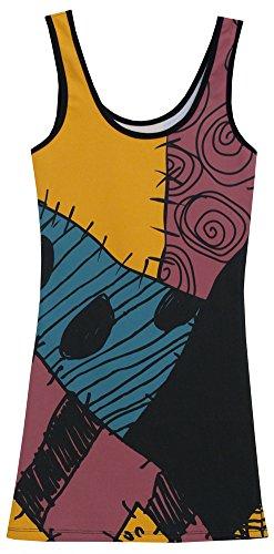 Sally Dress (The Nightmare Before Christmas I Am Sally Skellington Tunic Tank Dress (Juniors Small))