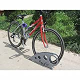 Boot Bike Rack, Galvanized Steel, 25-5/8''L x 2-5/8''W x 11-1/16''H
