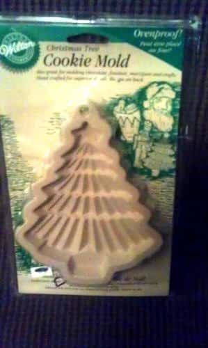 Wilton Christmas Tree Cookie Mold Ovenproof (candy and fondant use too)