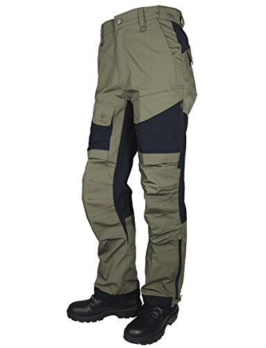 Tru-Spec Men's 24-7 Xpedition Pants, Ranger Green/Black, W: 34 Large: 34