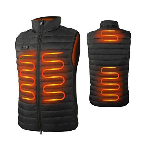 seenlast Heated Vest for Men Women, Electric USB Heating Gilet Lightweight Winter Vest, Body Warmer Jacket Waistcoat…