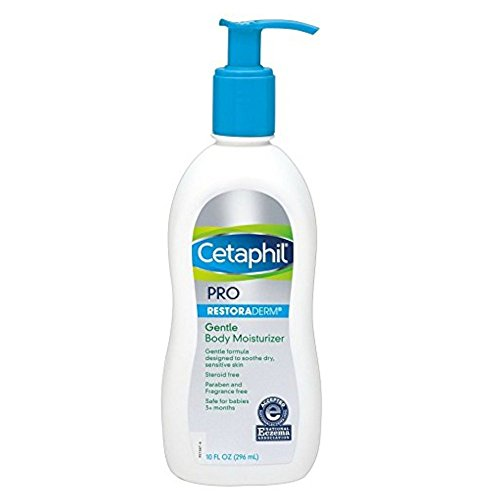Cetaphil Pro Restoraderm Gentle Body Moisturizer, Eczema Calming, 10-Fluid Ounces by Cetaphil