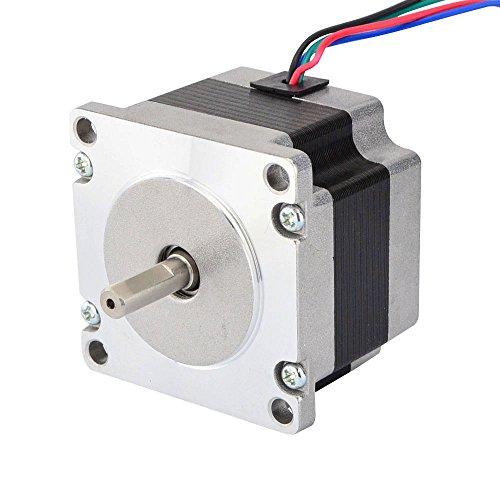 - STEPPERONLINE Small Current Nema 23 Stepper Motor Bipolar 0.88A 85oz.in/0.6Nm Hobby DIY CNC