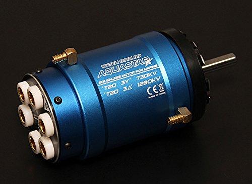 Turnigy AquaStar T20 3T 730KV/1280KV Water Cooled Brushless Motor B00USQVE6U