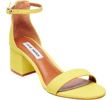 b32f256e72e Steve Madden Women s Irenee Two-Piece Block-Heel Sandals  Amazon.co.uk   Shoes   Bags