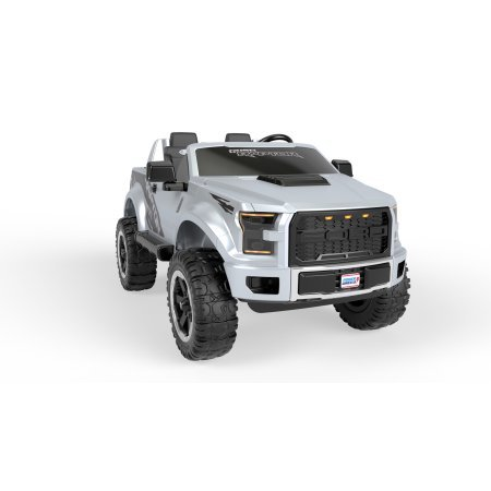 Silver Power Wheels Ford F-150 Exteme