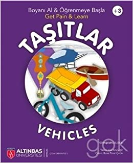 Tasitlar Vehicle Boyama Kitabi Gul Kocyigit 9786052065068