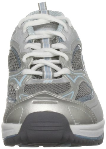 Skechers Baskets XF 12320 BKSL mode Accelerators femme Shape Argent ups HrZwHF