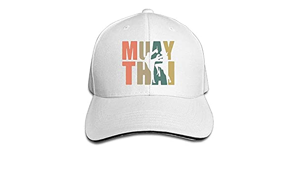 Man Boys Adjustable Truck Baseball Caps Sandwich Muay Thai Word with  Silhouette Peaked Gym Hats at Amazon Men s Clothing store  1ab1aa08dc33