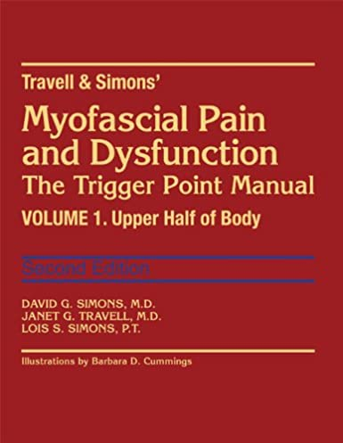 myofascial pain and dysfunction the trigger point manual vol 1 rh amazon com Trigger Point Therapy Chart travell and simons trigger point manual