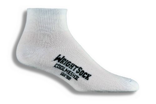 Wrightsock Double Layer Anti Blister Coolmesh II Quarter Socks- 2 Pack
