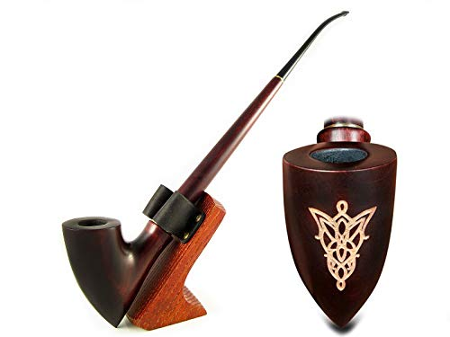 New Tobacco Pipes - Fashion NEW Lord of The Rings collection Churchwarden LOTR Smoking Tobacco Pipe 13 inch/33 cm. Exclusive Designed for Pipe Smokers