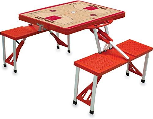 Toronto Raptors Folding Chair - NBA Toronto Raptors Basketball Court Design Portable Folding Table/Seats, Red