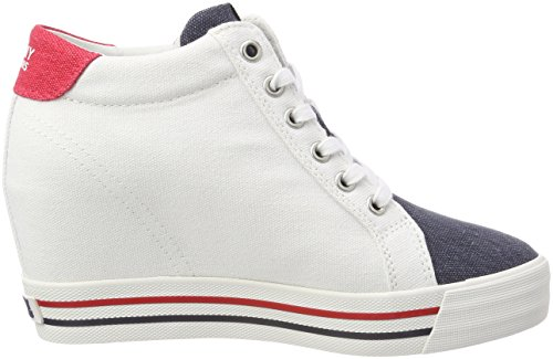 Femme Sneaker Sneakers Tommy Basses Wedge Jeans ORYXHq