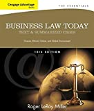Cengage Advantage Books: Business Law Today, The