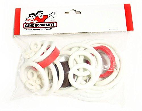 Gottlieb Jacks Open Pinball White Rubber Ring Kit