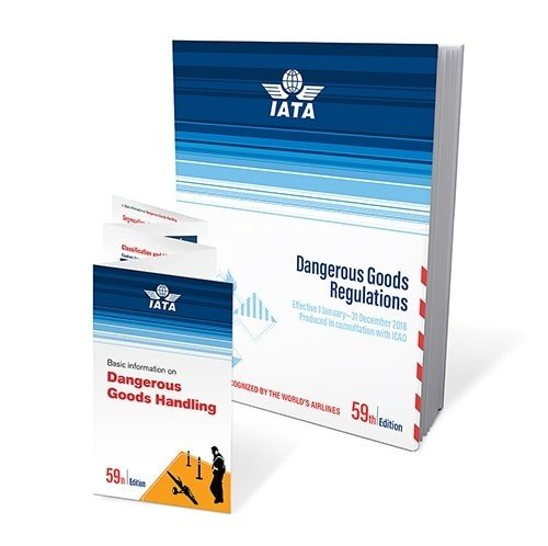 2018 59th Edition IATA Dangerous Goods Regulations - Perfect Bound - (English) by International Air Transport Association