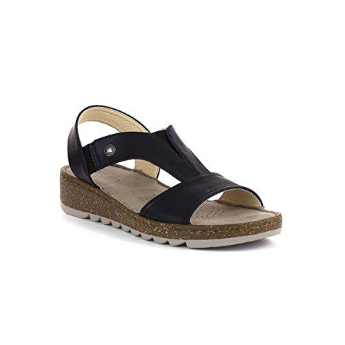 Comfort On Black Black Sandal Gluv Slip Womens Zq1R4SI