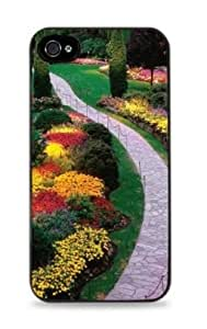 Butchart Gardens Gardening Apple iPhone 5 / 5s Case Victoria British Columbia Garden - Black - 122