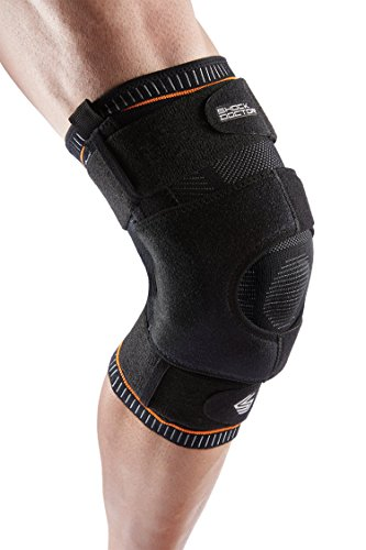 Shock Doctor Ultra Knit Knee Support, Knee Brace for Preventing & Healing Patella Instability, Meniscus Injuries, Minor Ligament Sprains & Hyperextension, for Men & Women, Sold as Single Unit (1)