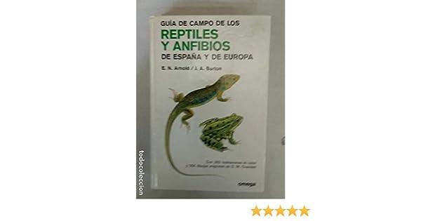 GUIA CAMPO DE REPTILES Y ANFIBIOS EUROPA: FG. TO REPTILES... GUIAS DEL NATURALISTA: Amazon.es: ARNOLD, BURTON, OVENDEN: Libros