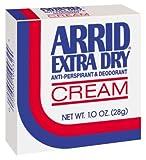 Arrid Extra Dry Cream Deodorant 1 OZ (Pack of 18)