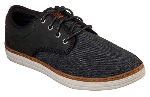 Para De Noir Cordones Hombre Heston Brogue santano Zapatos Skechers 7wx1aqq